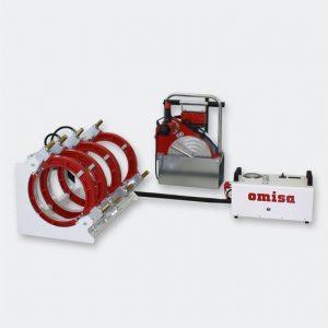 Комплектная машина сварки полимерных труб OMISA Manual Hydraulic 160