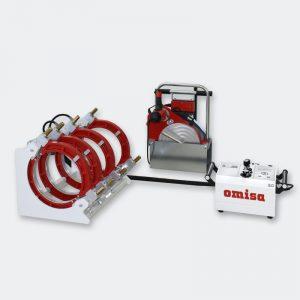 Комплектная машина сварки полимерных труб OMISA WeldControl 2.0 355